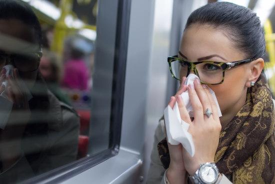 Nasentropfen bei Allergie