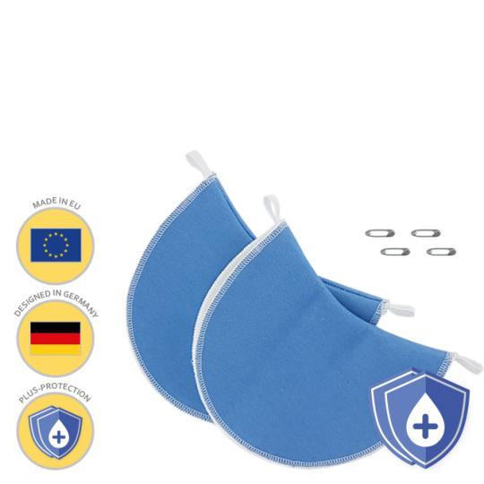 MANJANA® ACHSELPADS waschbar PLUS - extra starker Achselnässeschutz