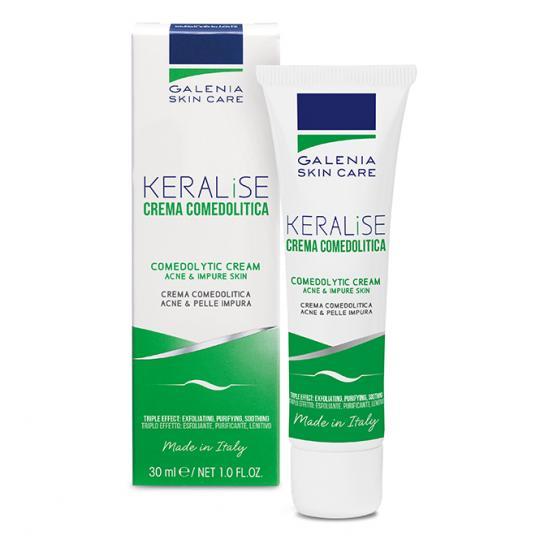 Galenia Skin Care® KERALISE talgregulierende Creme bei bei Neigung zu Akne, verstopften Poren und fettiger Haut. Mit schnell glättendem Effekt.