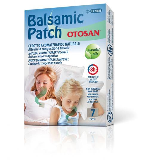 Otosan® Balsamic Patch Aromatherapiepflaster für einen freien Atem