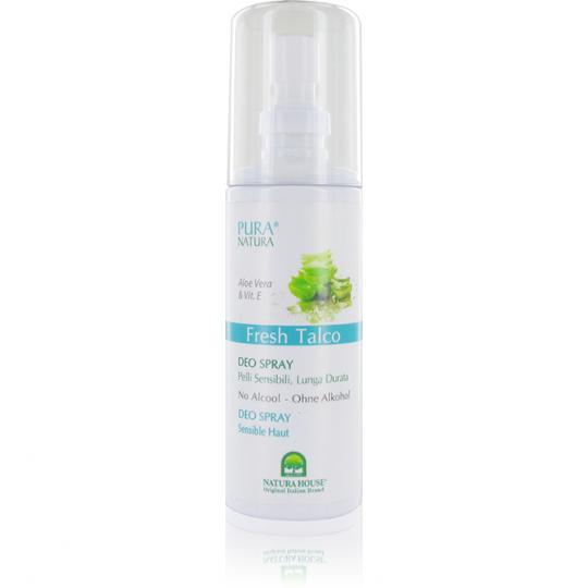 Pura Natura® Fresh Talco Deodorant Spray auf natürlicher Basis