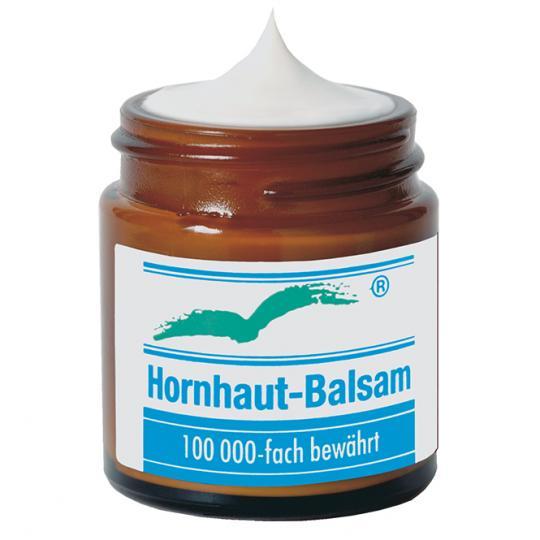 Hornhaut Balsam gegen Hornhaut an Füßen, Händen, Ellenbogen und Knien