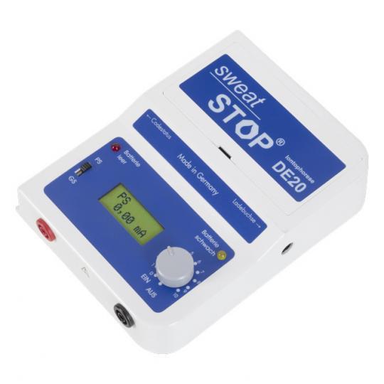 SweatStop® Iontophorese Gerät zur Behandlung der Hyperhidrose