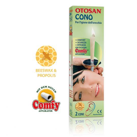 Otosan® Ohrkerze unterstützt die Pflege der Ohren auf natürliche Weise