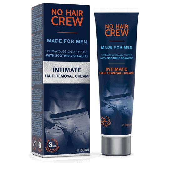 NO HAIR CREW Enthaarungscreme für den Intimbereich - für Männer