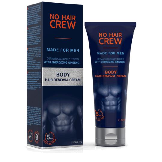 NO HAIR CREW Enthaarungscreme für den Körper - für Männer