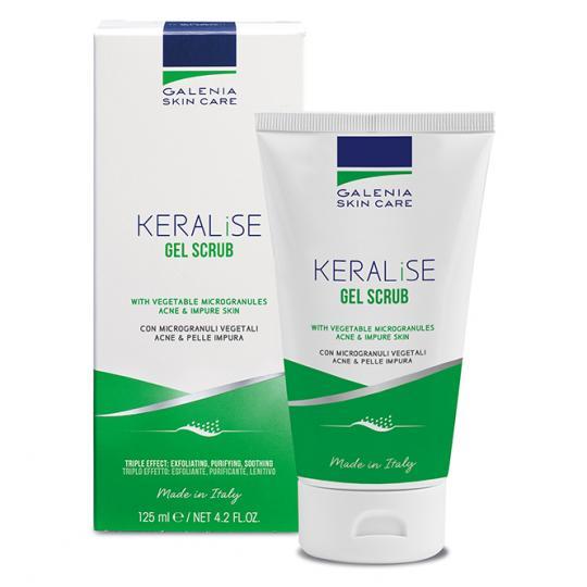 Galenia Skin Care® KERALISE Peeling-Gel mit Mikrogranulat bei Akne