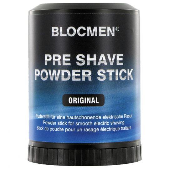 BLOCMEN© Original Rasurpuderstift für eine schonende Trockenrasur