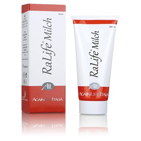 RaLife® Milch - Bei großflächigen Hautproblemen während Chemotherapie