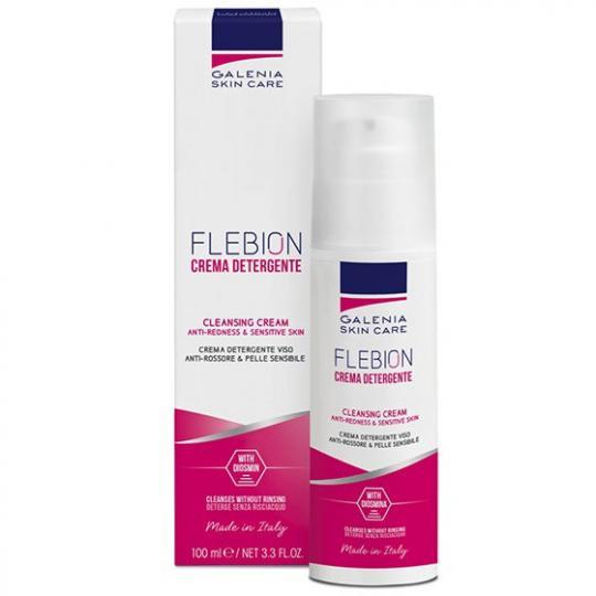 FLEBION Reinigungscreme bei Neigung zu Couperose und Rosazea